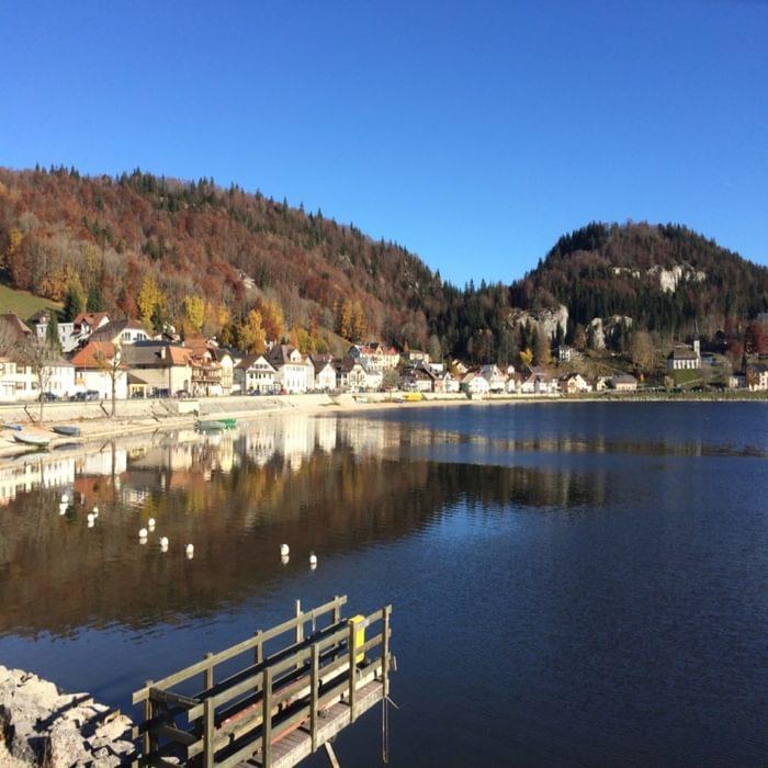 The village of Le Pont