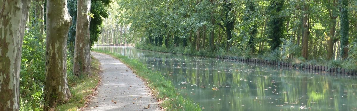 2 The Garonne Canal offers one of the best routes on traffic-free asphalted paths