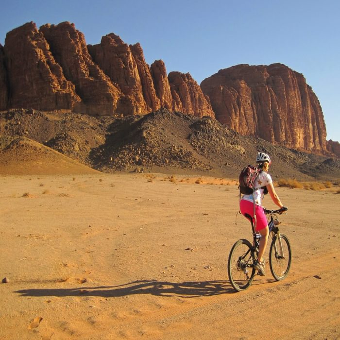 Cycling adventure: Cycle the Red Sea to the Dead Sea across Jordan