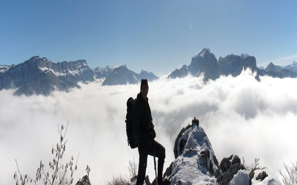 Summit of the Roche Veyrand, French Chartreuse