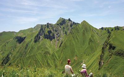 Great picnic views: Sancy ridge