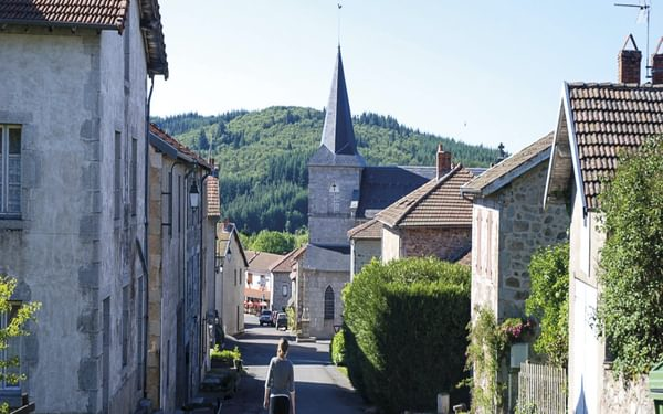 Walking through the sleepy village of St Nicolas