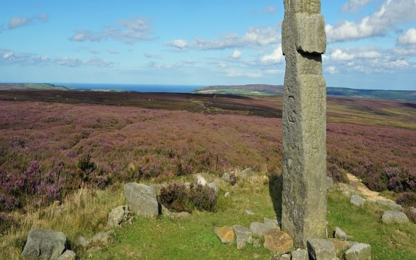 Lilla Cross is one of the oldest carved stone crosses on the moors