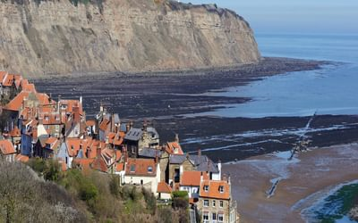 Robin Hood's Bay is one of the most popular coastal locations