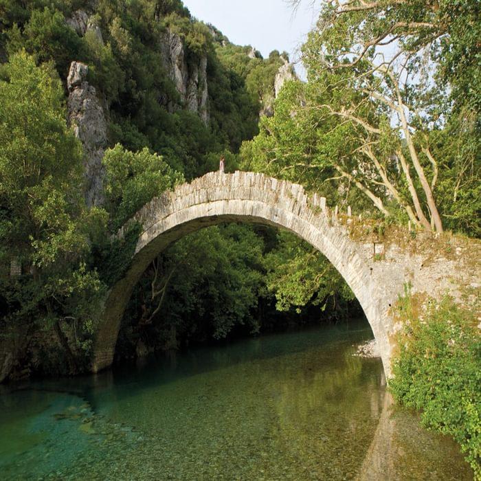 The Beautiful Kontodimos Bridge Over The Vikaki Stream Is A Sensational Start For Walk 3
