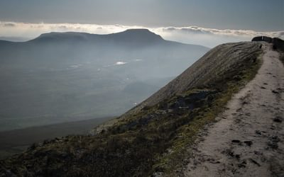 Ithe Summit Ridge Of Whernside And Ingleborough