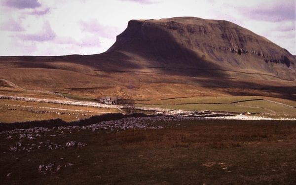 Pen-y-Ghent from the east