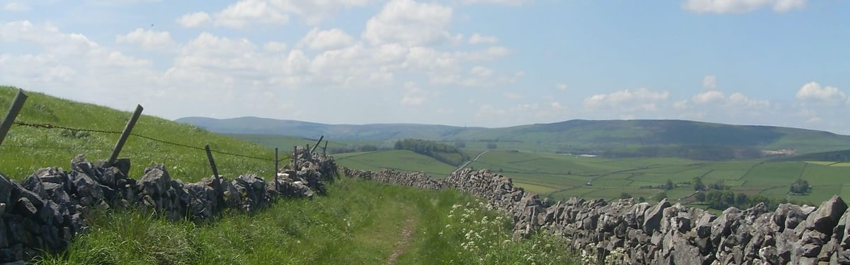 Limestone Way in Derbyshire