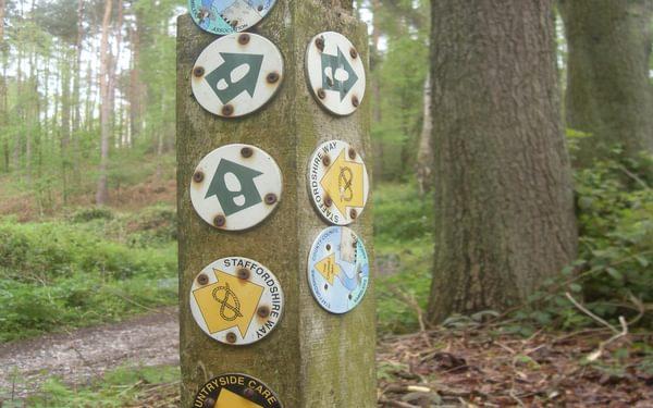 Misc trails waymarks 1