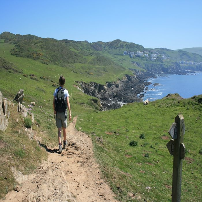 South West Coast Path National Trail, North Devon