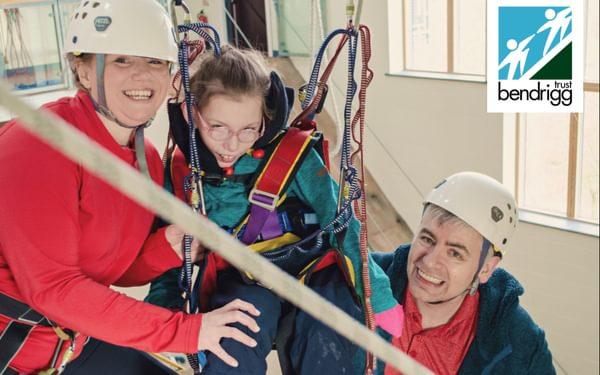 The Eykyn Family enjoying their climbing session