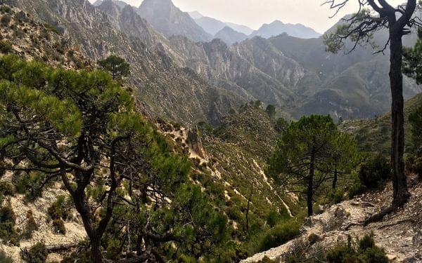 The Sierra de Competa