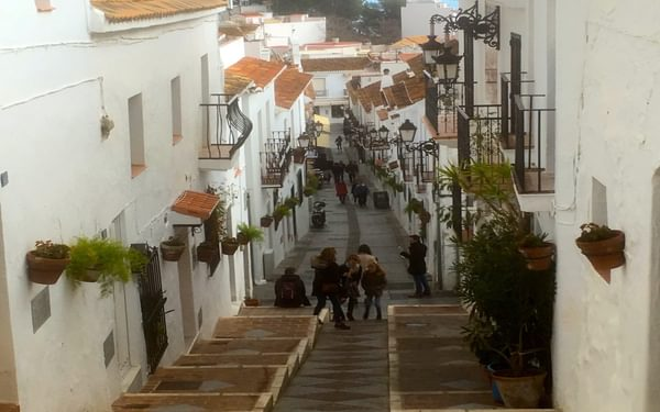 The side streets of Mijas