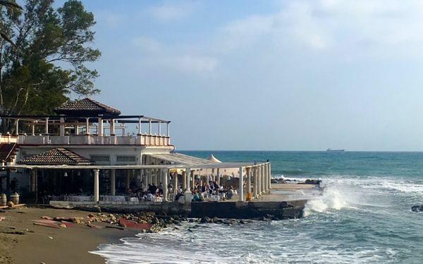 A Beachside Restaurant Or Chirinquitos