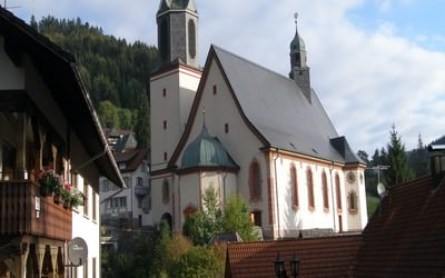 010 The baroque pilgrimage church of Todtmoos 'Unserer lieben Frau' (Our lovely Lady)