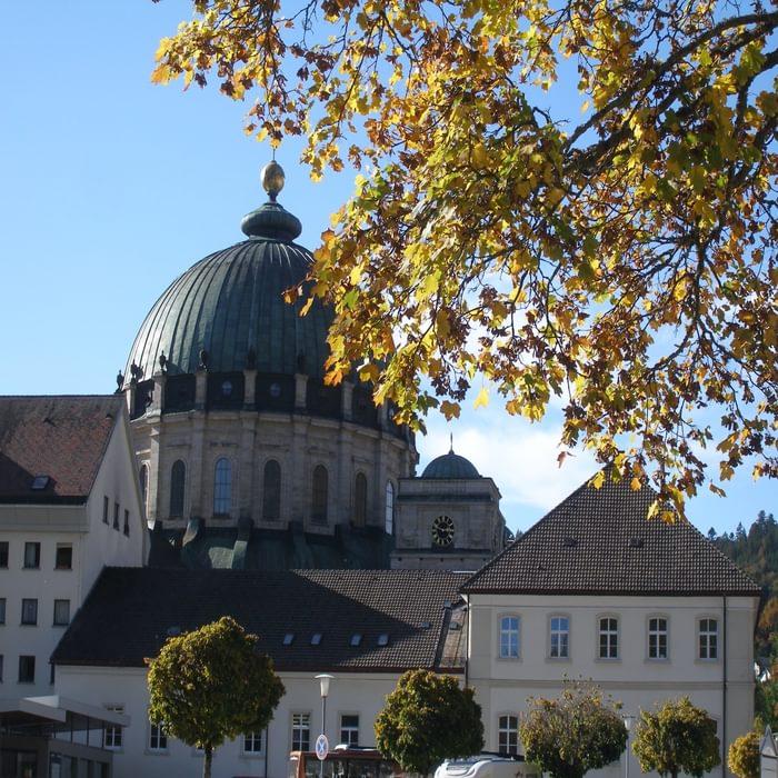 009 The oversized domed church of St. Blasien