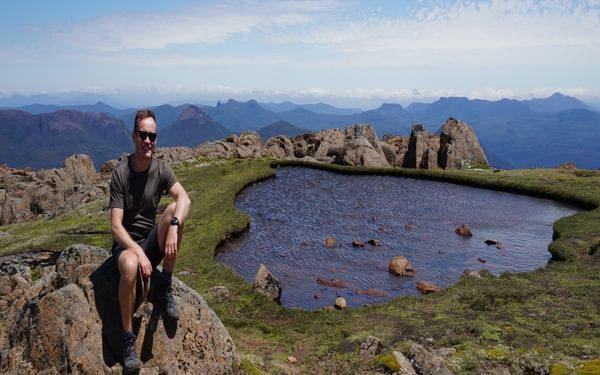 Mt Ossa's summit plateau