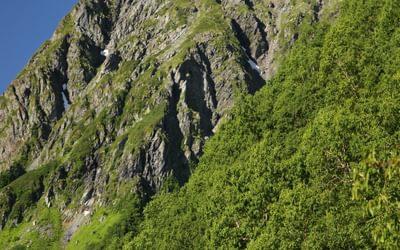 Kitadake6 The summit plateau of Kita-dake, Japan's 2nd highest mountain