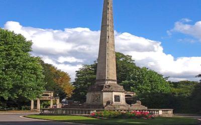 The Victoria Monument, Victoria Park, Bath