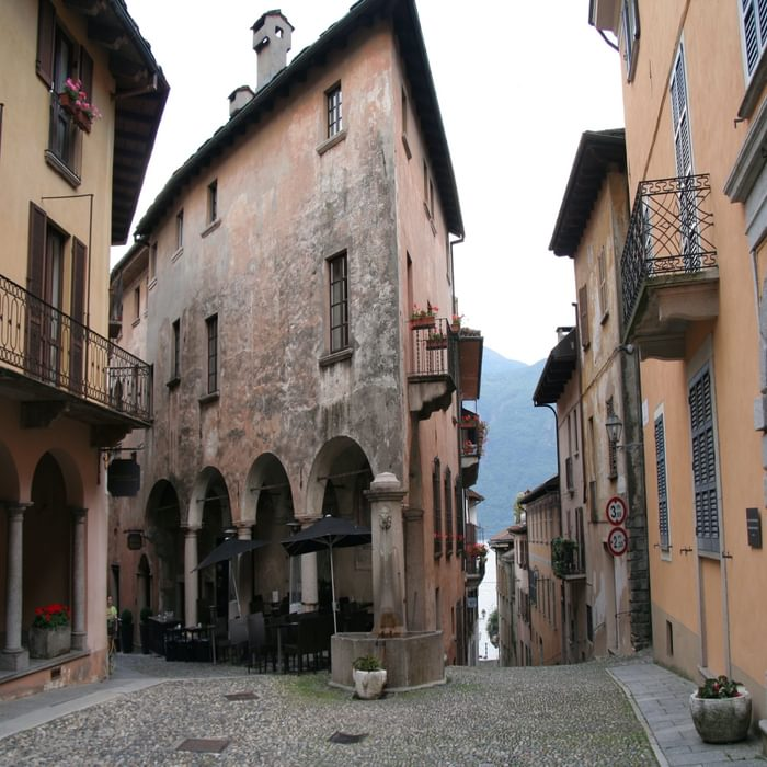 Pic20 The Pretty Village Of Cannobio On Upper Lake Maggiore