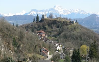 The Alps above Chaumont