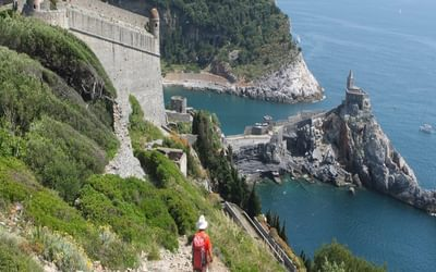 15 What A Way To Conclude The Trek Approaching Porto Venere