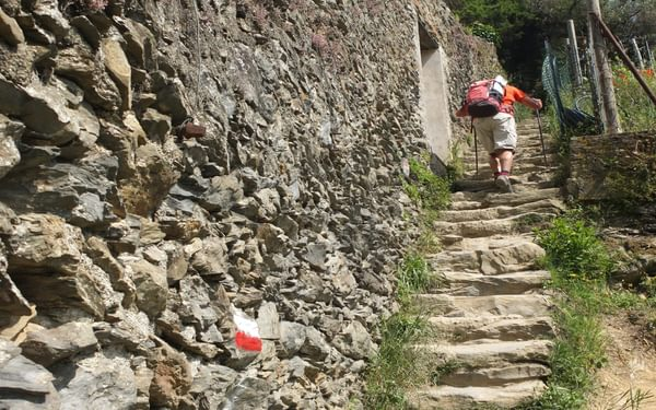 18 Steep Flights Of Stone Steps Are The Norm
