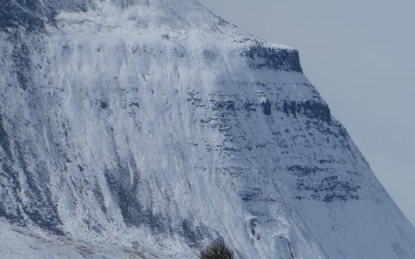 Ingleborough snow