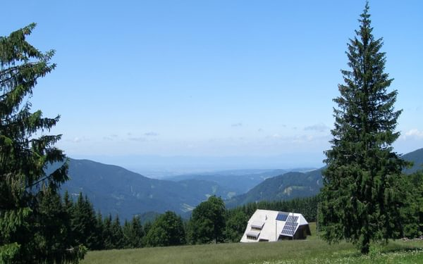 003 The Central Black Forest has softer contours. The view from Brend, with the Rhine Valley and Vosges on the distant horizon