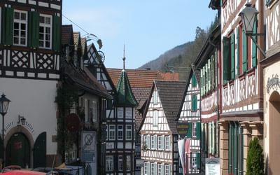 013 Schiltach is one of many beautiful old timber-frame villages that line the Kinzig Valley
