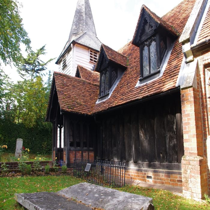 Greensted Church is the oldest wooden church in the world