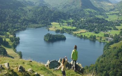 Grasmere from near the summit of Loughrigg