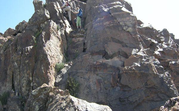 2  High On The Tizi Ridge