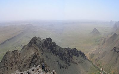 3  Tizi Ridge And Tizi Ou Manouze From Tasselt