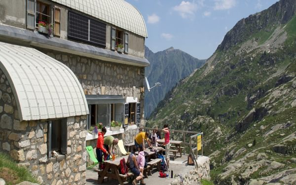 005 Refuge de Larribet (2072m) in the Central Pyrenees