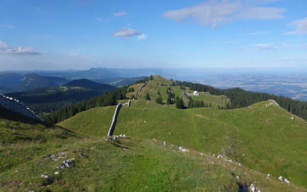 Mont Tendre summit