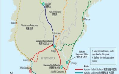 pilgrimage trails map