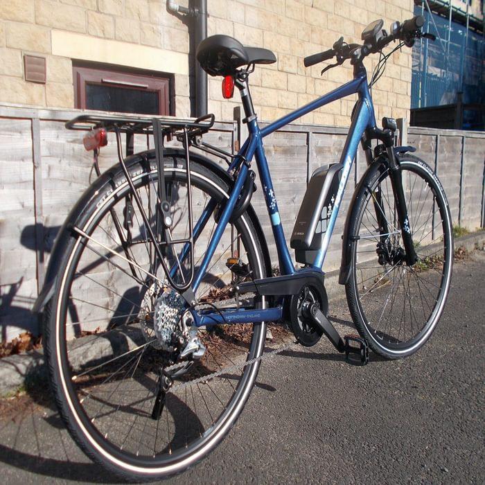 Raleigh touring bike