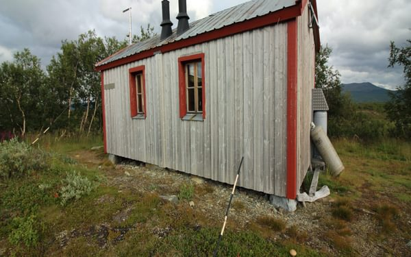 The oldest cabin at Syter dates back to 1926