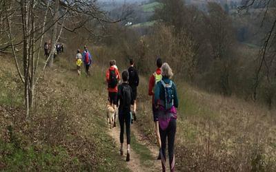 Extensive views over the Surrey Hills AONB (photo credit: Rob Close)
