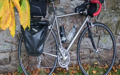 Panniers – and a few other bags for things like camera, valuables and snacks (Image by Richard Barrett)