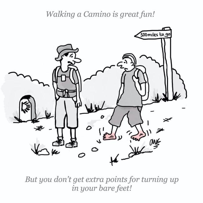 Barefoot Camino