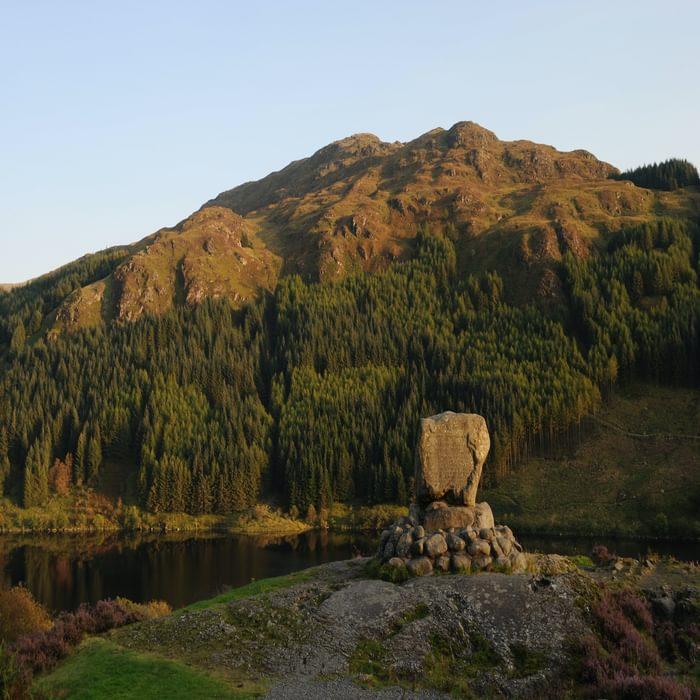 Bruce's Stone at Loch Trool [walk start] 05