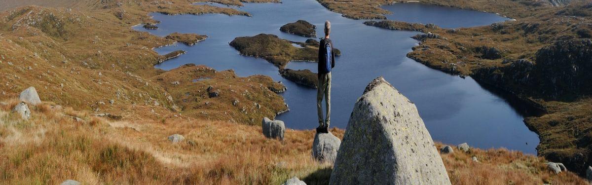 Loch Enoch seen from Redstone Rig 13