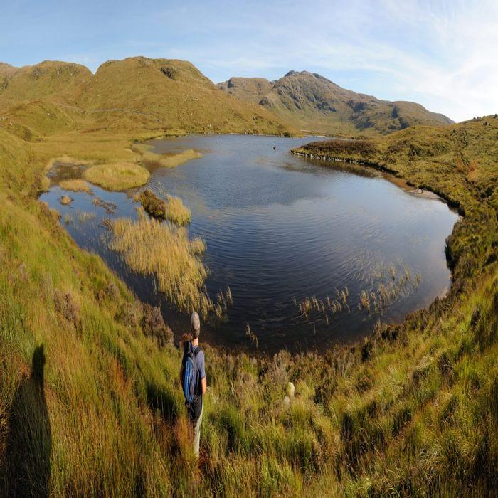 Murder Hole of Loch Neldricken, looking across to Craignaw03