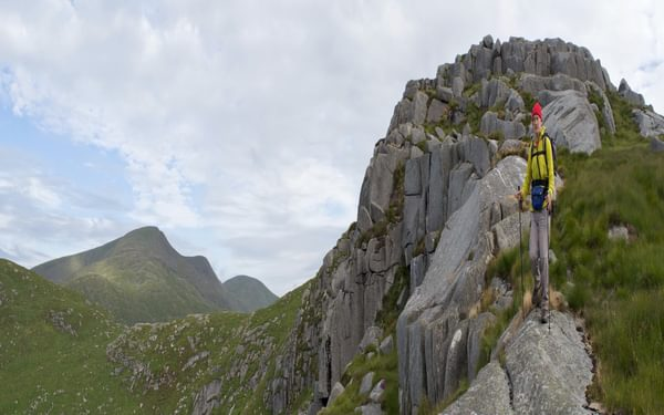 Ridge of Craignairny above Wolf Slock 15