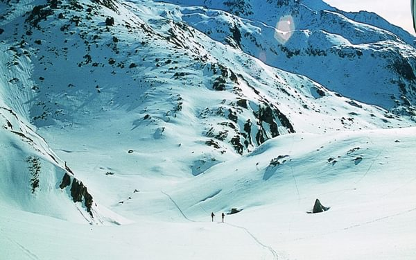 Skinning Up To The Col D Aussois
