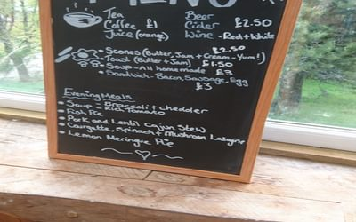 Cougie Lodge, south of Glen Affric, puts on a special menu for the Challenge every year