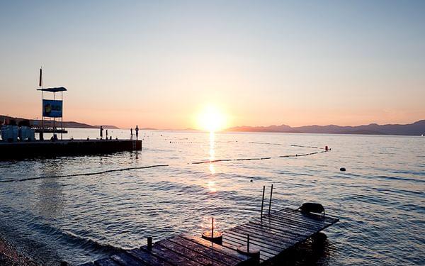 Sunset on the island of Brač, Croatia © Rudolf Abraham