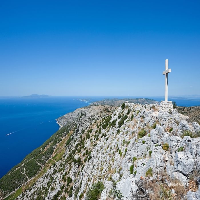 Sv Nikola, the highest point on the island of Hvar, Croatia © Rudolf Abraham